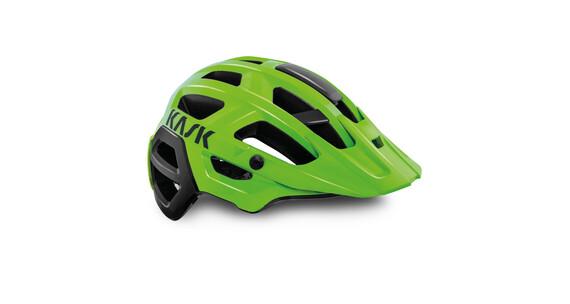 Kask Rex  helm groen/zwart